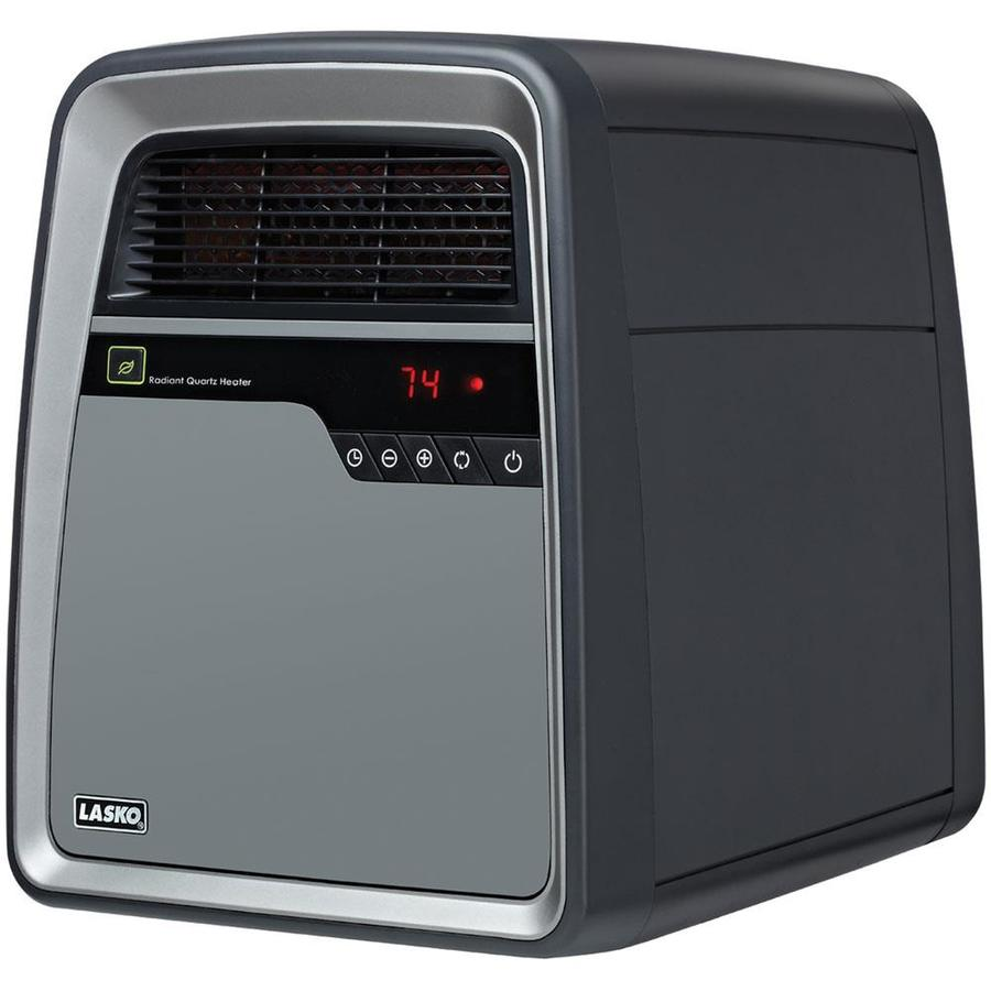 Lasko 5,118-BTU Infrared Cabinet Electric Space Heater with Thermostat