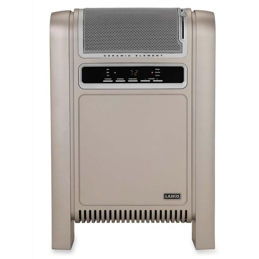 Lasko 5,118-BTU Ceramic Cabinet Electric Space Heater with Thermostat