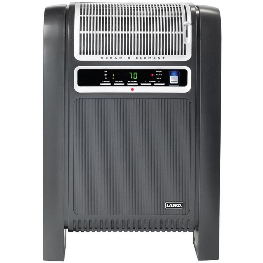 Shop Lasko 5 118 Btu Ceramic Cabinet Electric Space Heater
