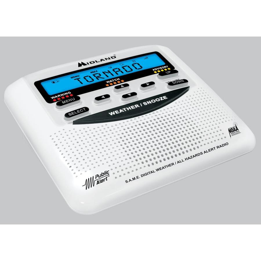 Midland Weather Radio with Clock