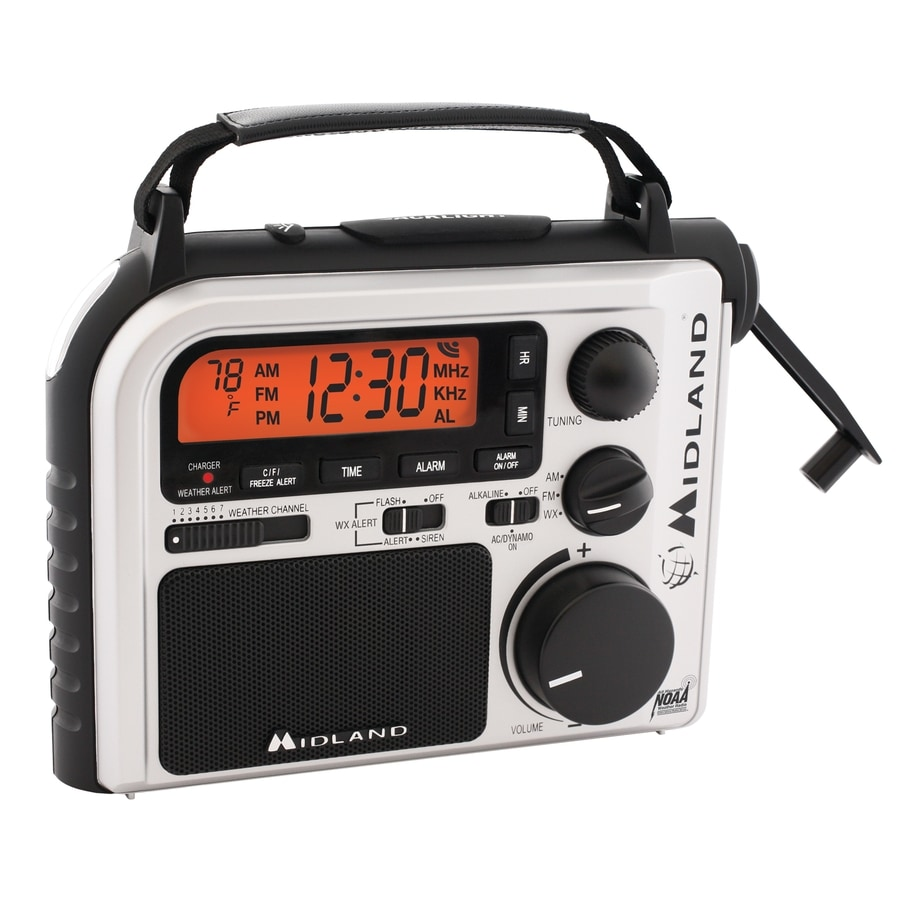 Midland Emergency Crank Power Weather Radio