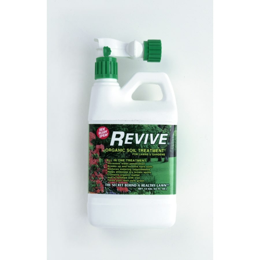 Revive Organic Soil Treatment Ready Spray Liquid 64 Oz Compost At