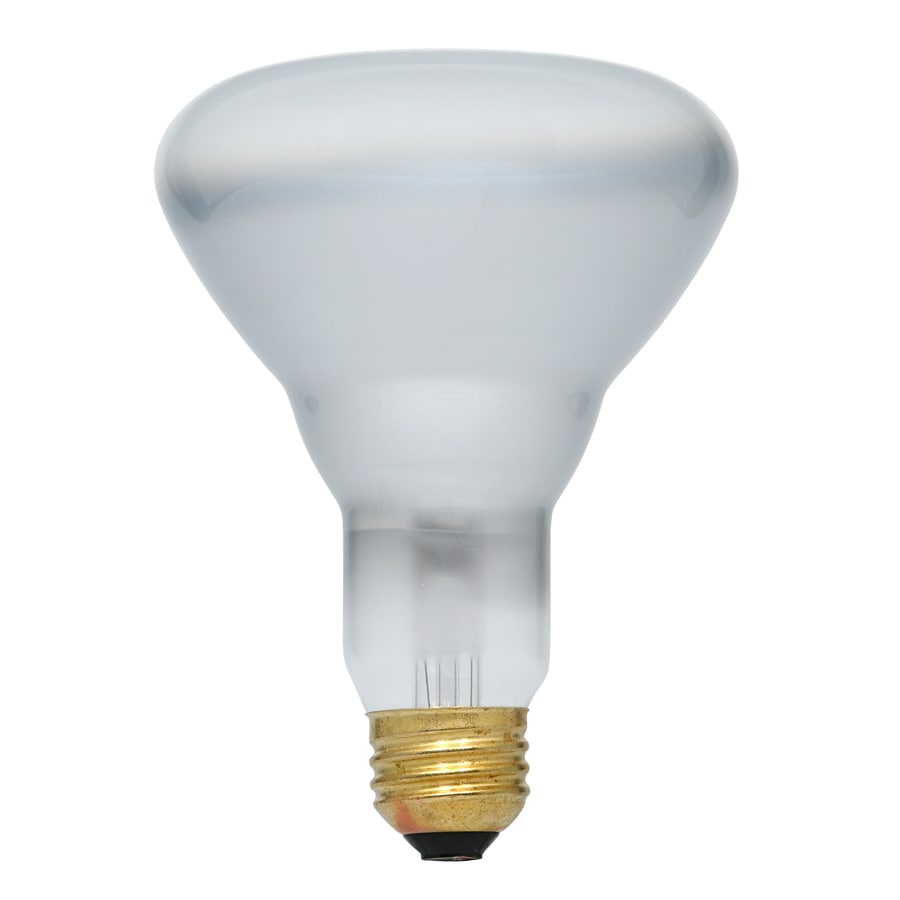 Shop sylvania 65 watt dimmable warm white br30 halogen flood light bulb at Light bulb wattage