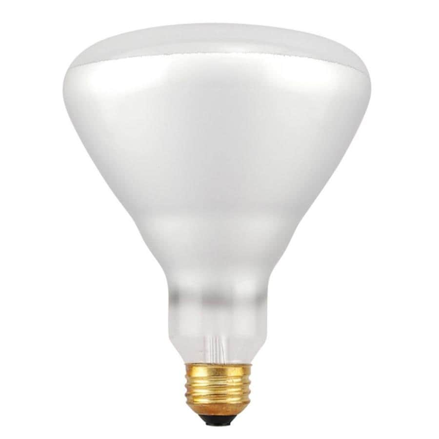 Shop sylvania 65 watt dimmable warm white br40 halogen flood light bulb at Light bulb wattage