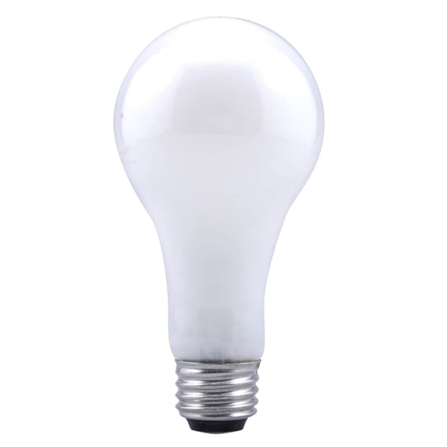 Shop SYLVANIA 150 Watt Indoor Dimmable Soft White A21 Incandescent ...