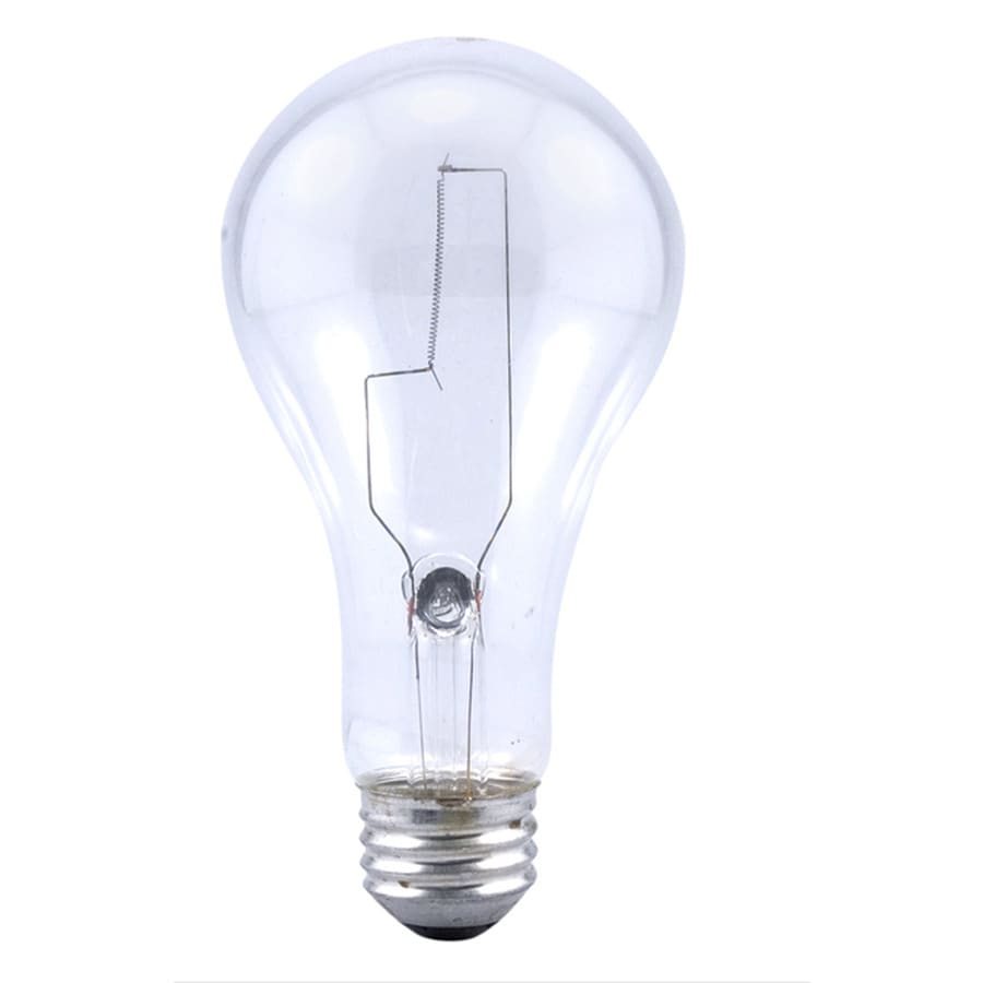 SYLVANIA 150 Watt Indoor Dimmable Soft White A21 Incandescent Light Fixture Light Bulb