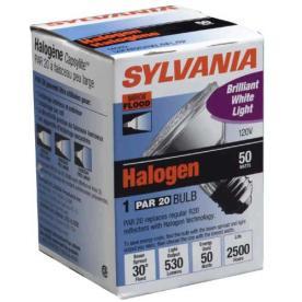 NEW Sylvania 50 Watt PAR20 14502 Halogen Light Bulbs Narrow Flood