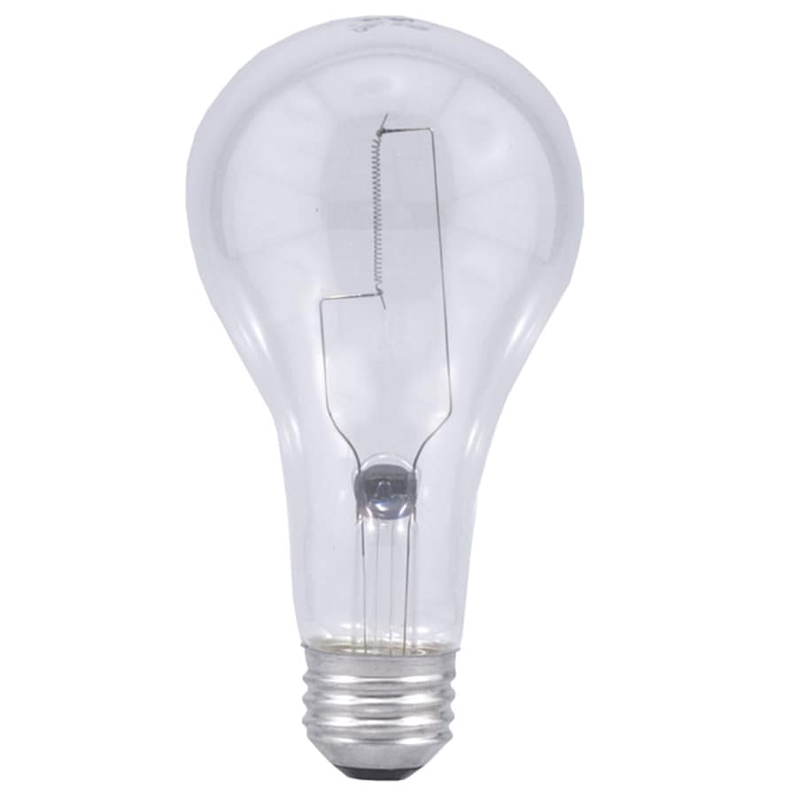 Shop Sylvania 200 Watt Indoor Dimmable Soft White A21 Incandescent Light Fixture Light Bulb At