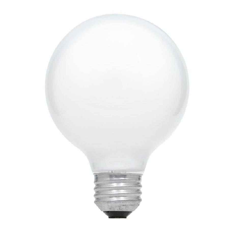 Shop Sylvania 3 Pack 25 Watt Dimmable Soft White G25 Incandescent Decorative Light Bulb At