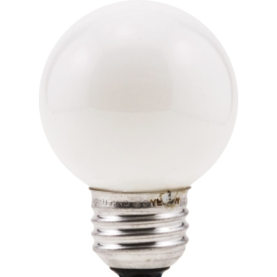 Shop Sylvania 2 Pack 40 Watt Dimmable Soft White G16 5 Incandescent Decorative Light Bulb At