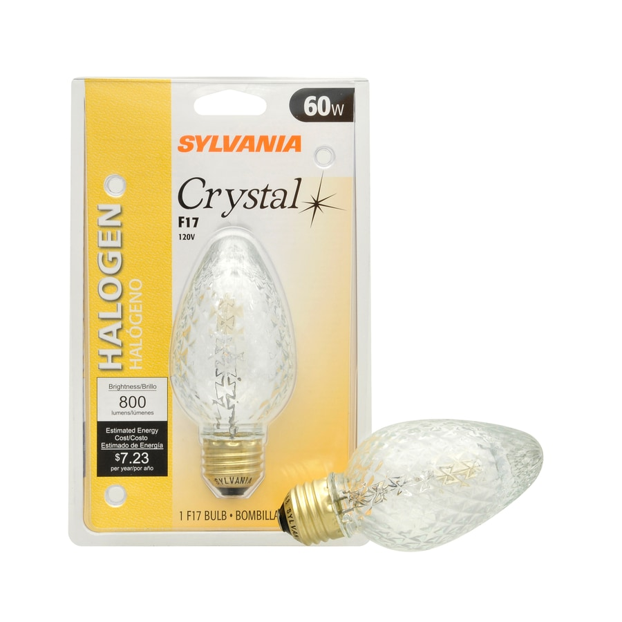 SYLVANIA 60 Watt Dimmable Soft White F Halogen Decorative Light Bulb
