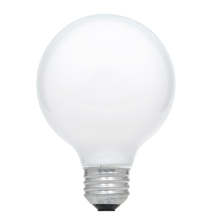 Shop Sylvania 2 Pack 60 Watt Dimmable Soft White G25 Incandescent Decorative Light Bulb At