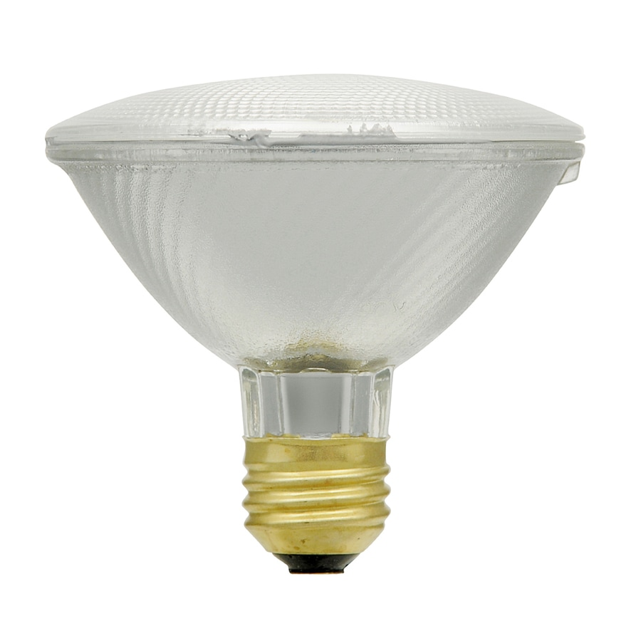 Shop Sylvania 60 Watt Dimmable Warm White Par 30 Shortneck Halogen Flood Light Bulb At