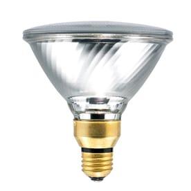 SYLVANIA 2 Pack 39 Watt Dimmable Warm White PAR38 Halogen Flood Light Bulbs