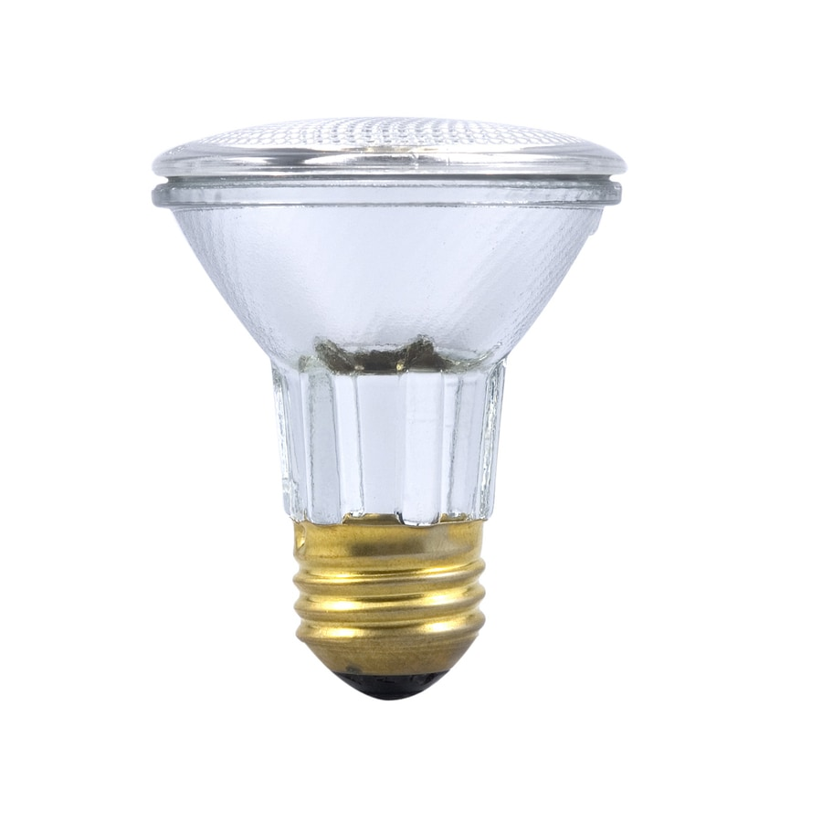 Shop sylvania 39 watt dimmable warm white par20 halogen flood light bulb at A light bulb