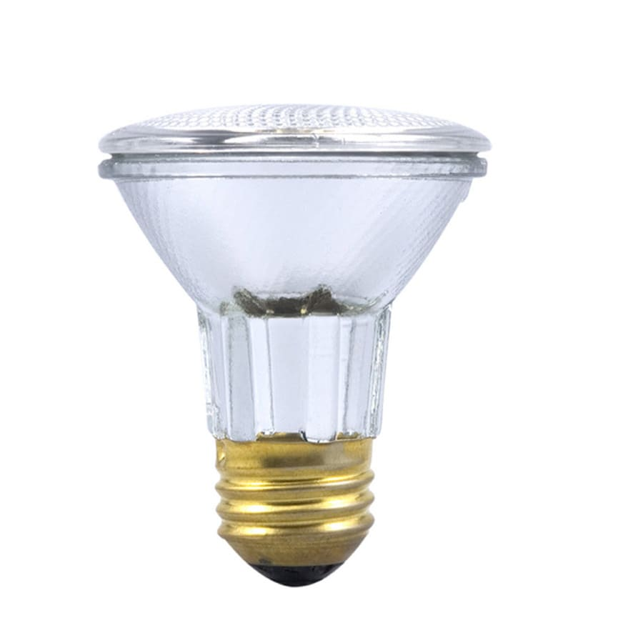 Shop SYLVANIA 39-Watt Dimmable Warm White Par20 Halogen Spot Light ...