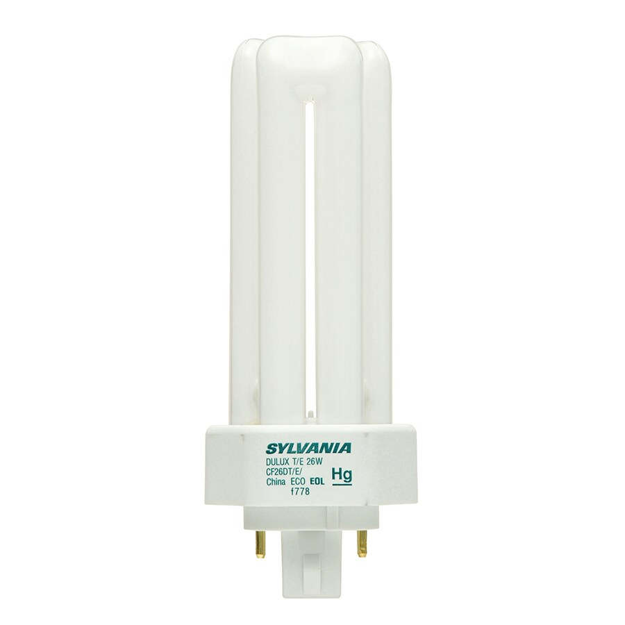 Sylvania 100 W Equivalent Cool White Triple Cfl Light Fixture Bulb