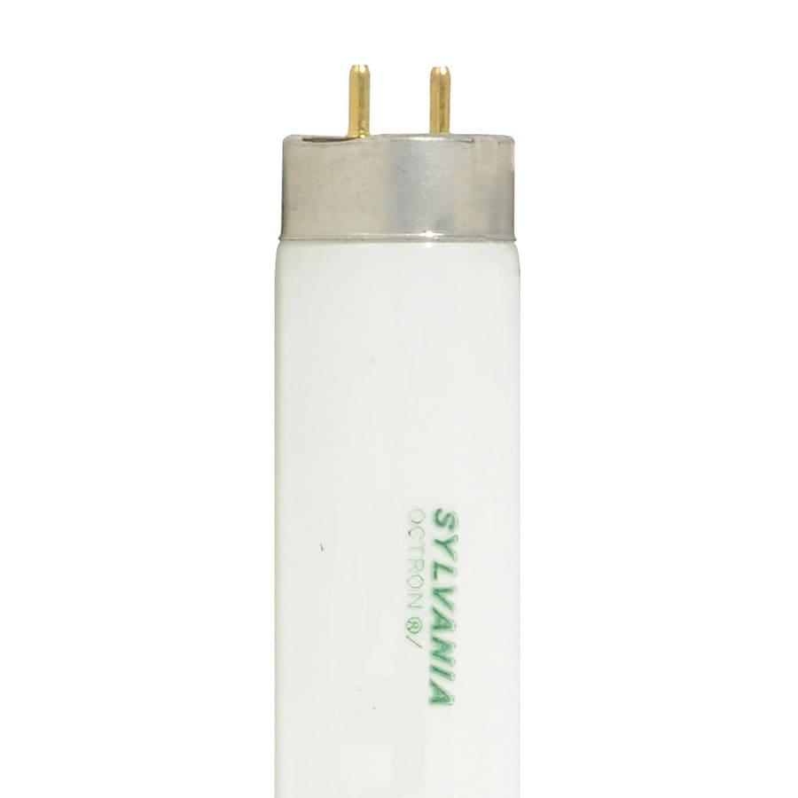 SYLVANIA 30-Pack 35.78-in Miniature Bi-pin (T8) 25-Watt 3000 K Warm White Fluorescent Light Bulb