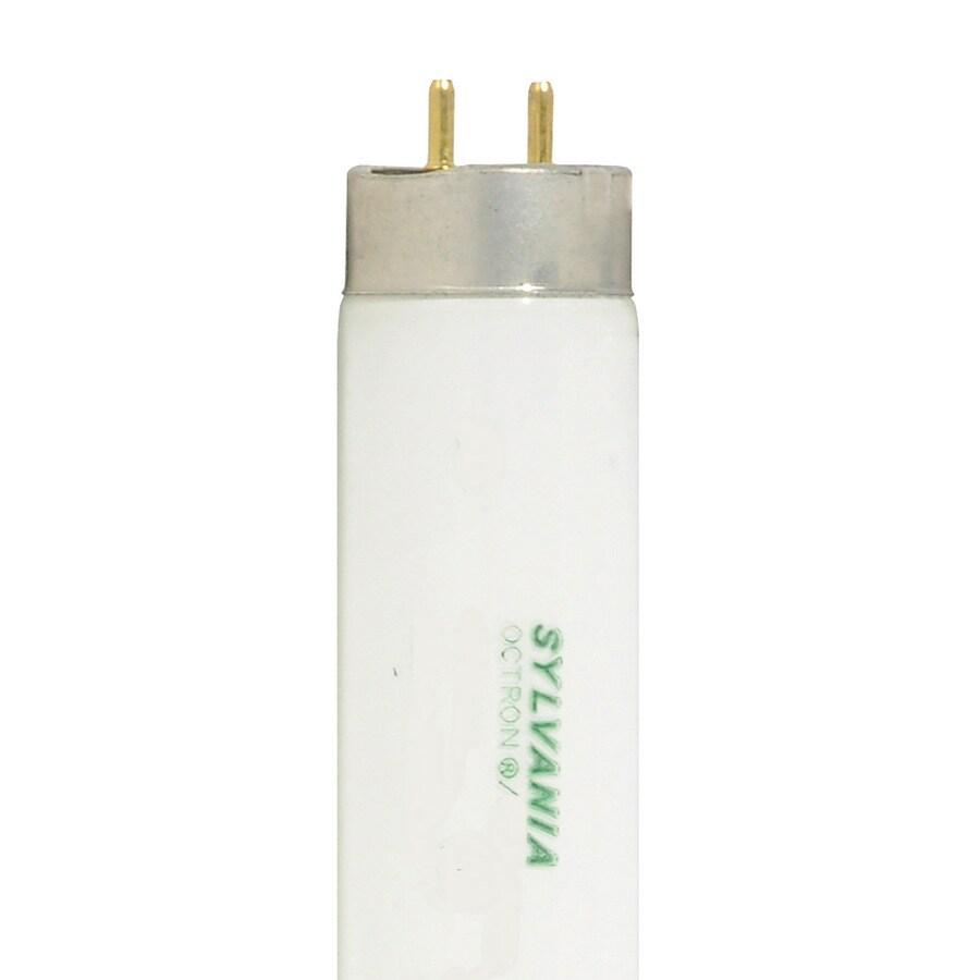 SYLVANIA 30-Pack 40-Watt 3,500K Bright White Fluorescent Tube Light Bulbs (Common: 40-in; Actual: 59.61-in)