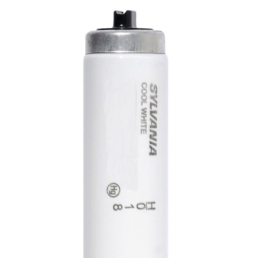 SYLVANIA 15110-Watt 4100 K Cool White  Fluorescent Tube Light Bulb (Common: 96-in; Actual: 93.91-in)