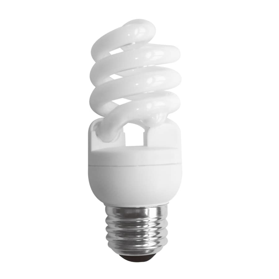 Shop sylvania 4 pack 60 w equivalent bright white a19 cfl light fixture light bulbs at Sylvania bulb