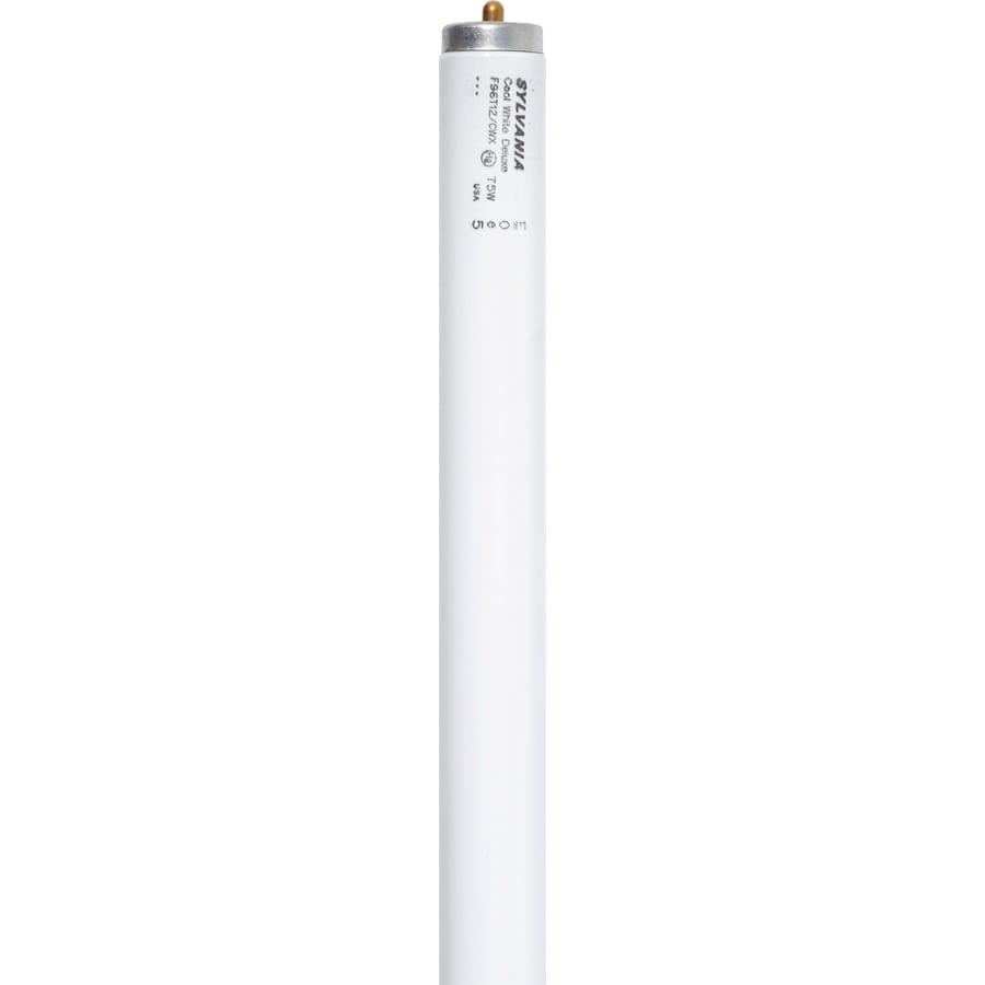 SYLVANIA 2-Pack 75-Watt 4100K Cool White Linear Fluorescent Tube Light Bulbs (Common: 94-in; Actual: 94-in)