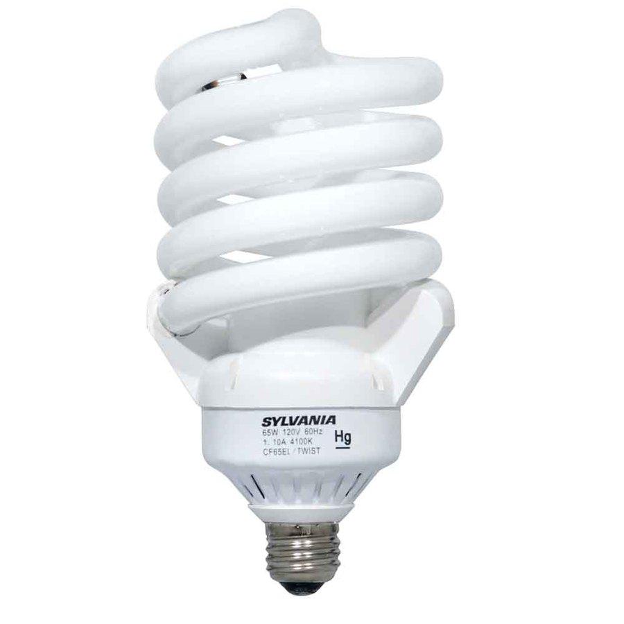 SYLVANIA 6-Pack 60 W Equivalent Soft White A19 CFL Light Fixture Light Bulbs