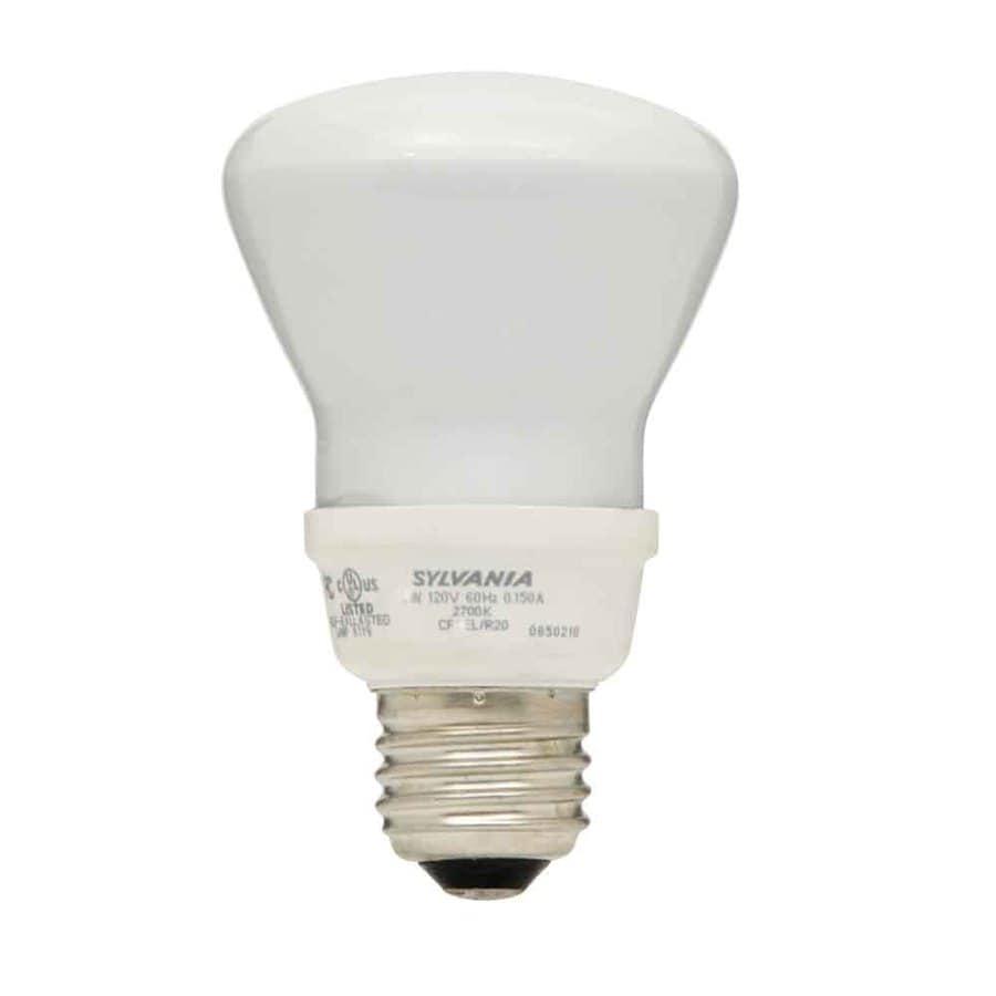 Sylvania 6 Pack 50 Watt Equivalent Indoor Compact Fluorescent Flood Light Bulb Energy Star