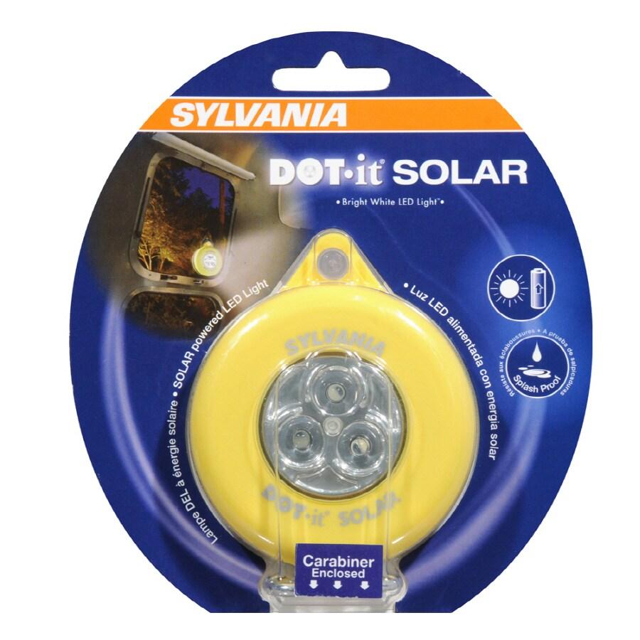 SYLVANIA Solar LED Dot It Portable Light