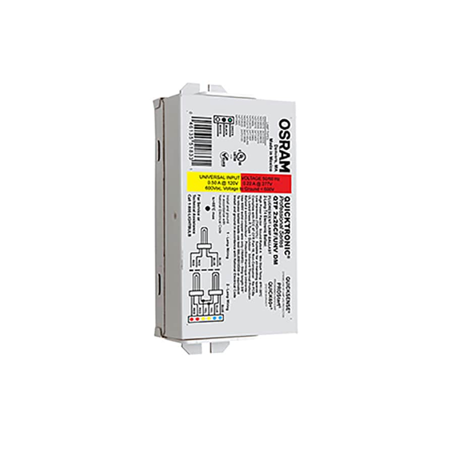 OSRAM 2-Bulb Commercial Electronic Fluorescent Light Ballast