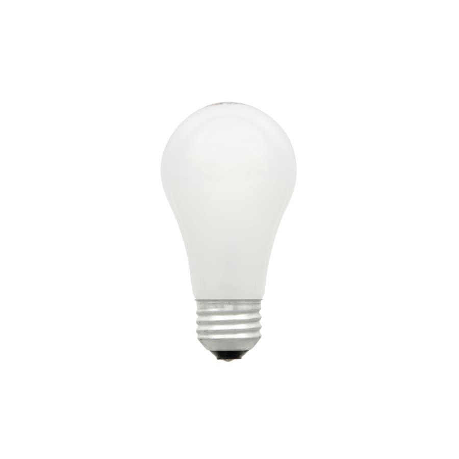 SYLVANIA 4-Pack 28 Watt Dimmable Warm White A19 Halogen Light Fixture Light Bulb