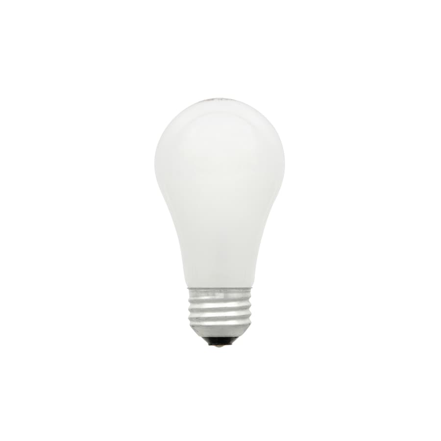 SYLVANIA 4-Pack 43 Watt Dimmable Warm White A19 Halogen Light Fixture Light Bulbs