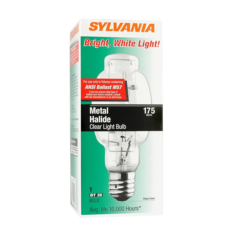 SYLVANIA 175-Watt 4200K BT28 Mogul Base (E-40) Indoor Metal Halide Hid Light Bulb