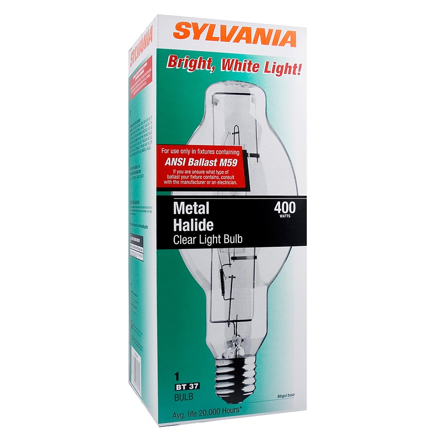 Are Metal Halide Lights Dangerous: SYLVANIA 400-watt BT37 Metal Halide HID Light Bulb At