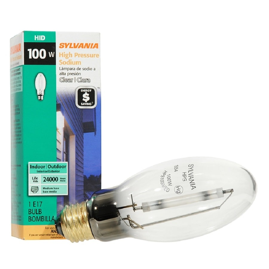 Shop sylvania 100 watt 2100 k e17 medium base e 26 high pressure sylvania 100 watt 2100 k e17 medium base e 26 high arubaitofo Gallery