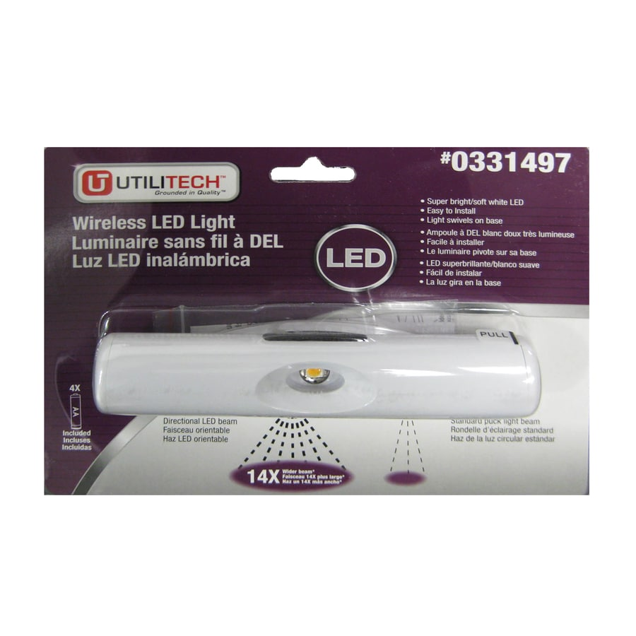 Utilitech 6-in Battery Under Cabinet LED Light Bar  sc 1 st  Loweu0027s : utilitech lighting parts - azcodes.com