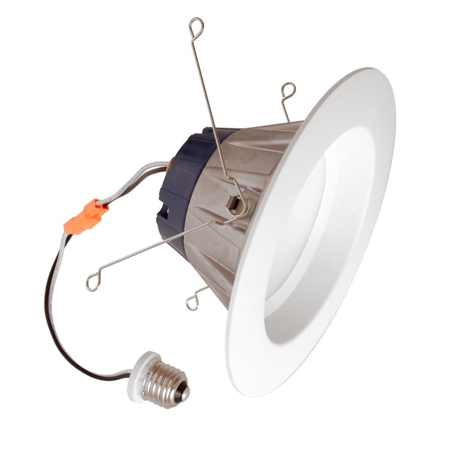 SYLVANIA Ultra 65-Watt Equivalent White Trim Dimmable Led Recessed Retrofit Downlight (Fits Housing Diameter: 5-in or 6-In)