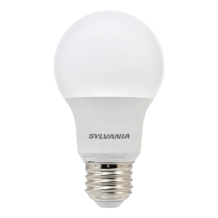 A19 Led Light Bulbs: SYLVANIA 3-Pack 60 W Equivalent Soft White A19 LED Light Fixture Light Bulbs,Lighting