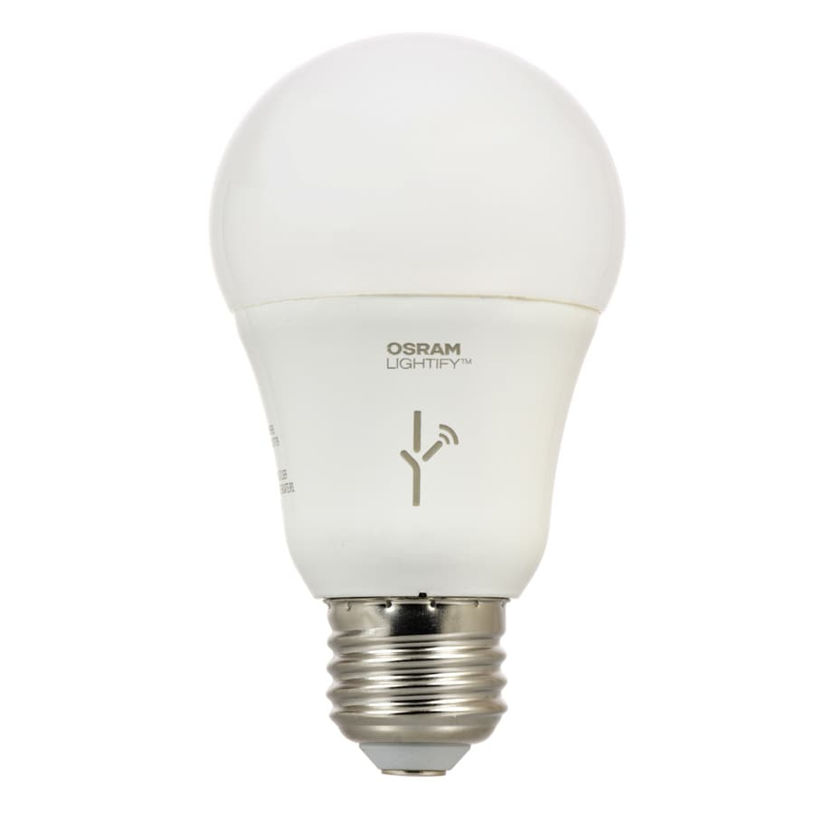Shop Sylvania Lightify 60 W Equivalent Dimmable Full Spectrum A19 Led Light Fixture Light Bulb