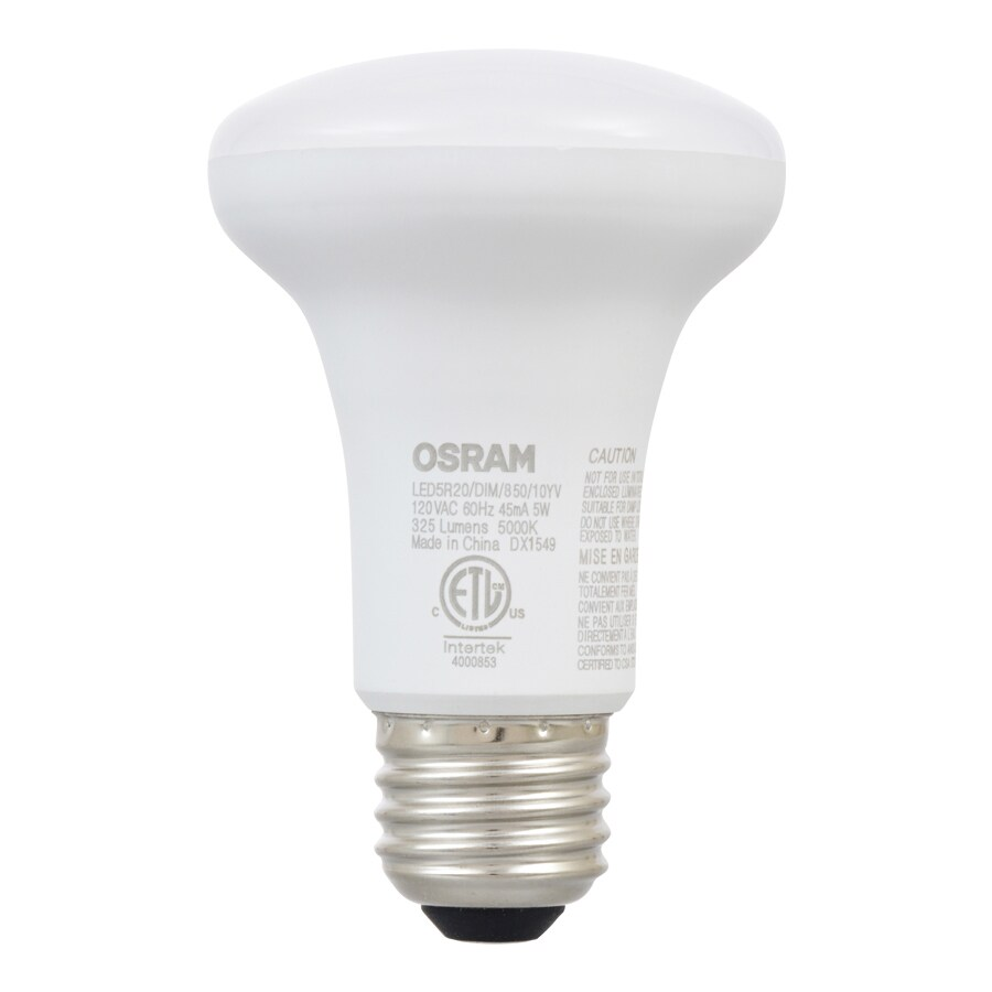 SYLVANIA 2-Pack 50 W Equivalent Dimmable Soft White R20 Led Flood Light Bulb
