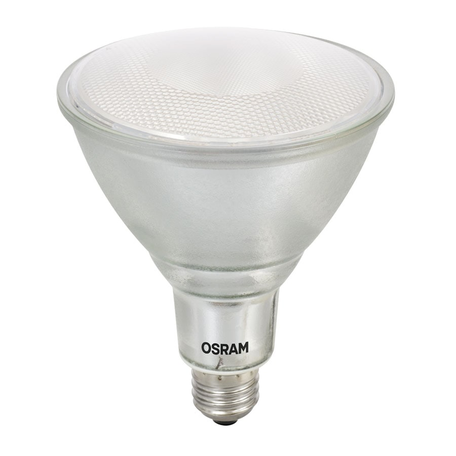Shop Sylvania 100w Equivalent Dimmable Warm White Par38 Led Flood Light Bulb At