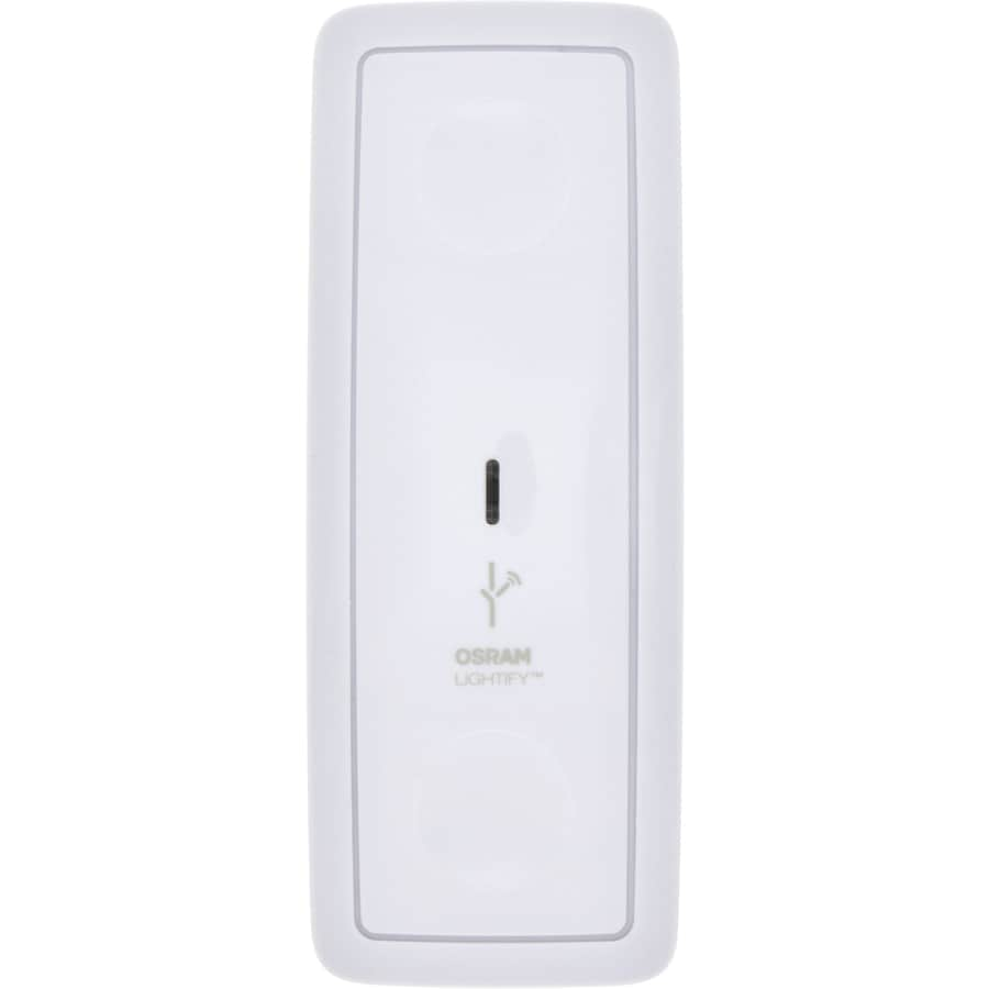 SYLVANIA Lightify Single Pole Wireless White Indoor Push Light Switch