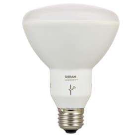 SYLVANIA LIGHTIFY 65 W Equivalent Dimmable Full Spectrum BR30 LED Flood  Light BulbShop LED Light Bulbs at Lowes com. Lowes Outdoor Led Flood Light Bulbs. Home Design Ideas