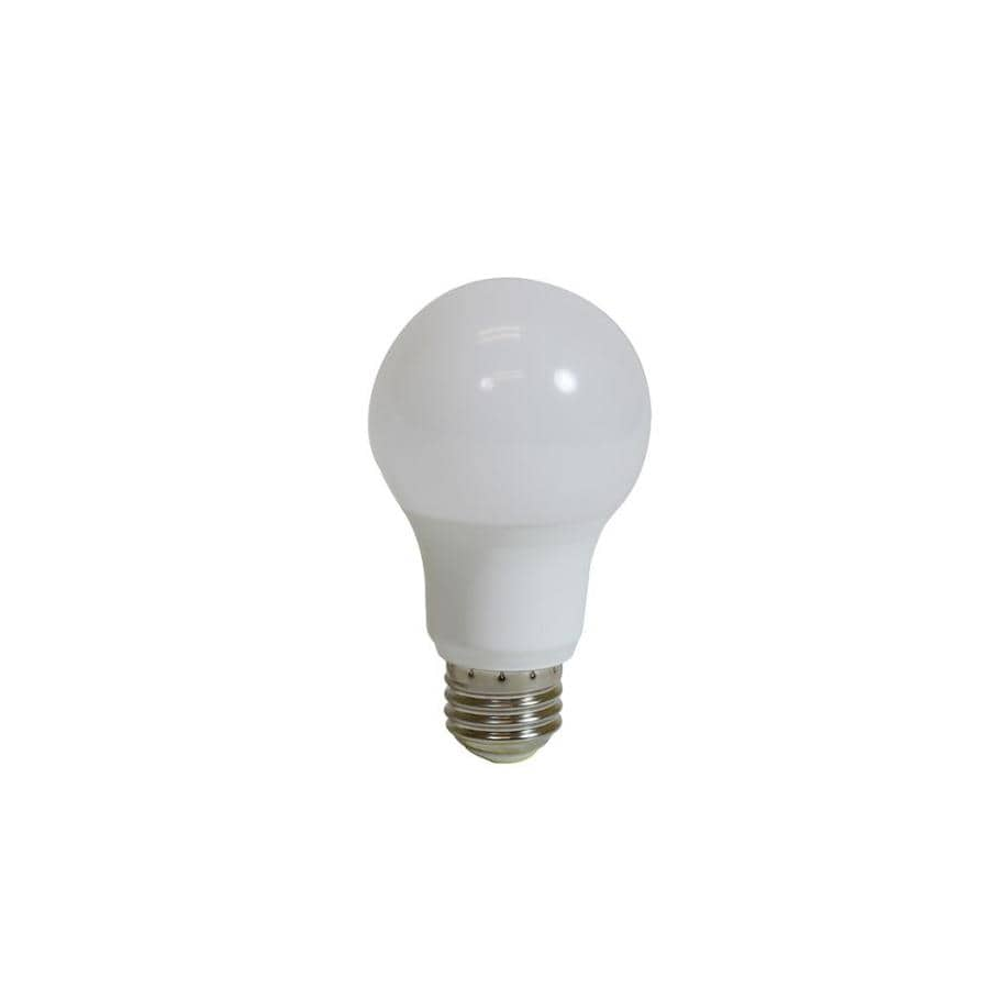 60w equivalent dimmable soft white a19 led light fixture light bulbs. Black Bedroom Furniture Sets. Home Design Ideas