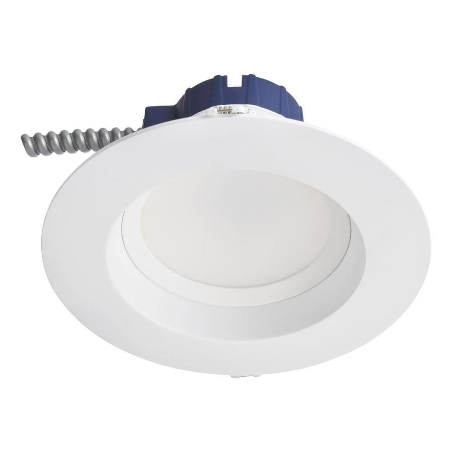 SYLVANIA 65-Watt Equivalent White Dimmable LED Recessed Retrofit Downlight (Fits Housing Diameter: 5-in Or 6-in)