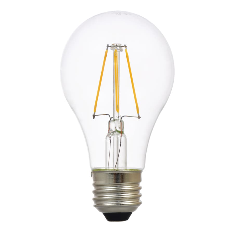 Shop Sylvania 60w Equivalent Dimmable Soft White A19 Led Light Fixture Light Bulb At