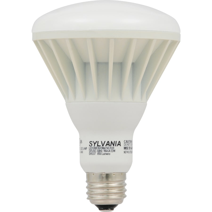 SYLVANIA 65W Equivalent Dimmable Soft White BR30 LED Flood Light Bulb
