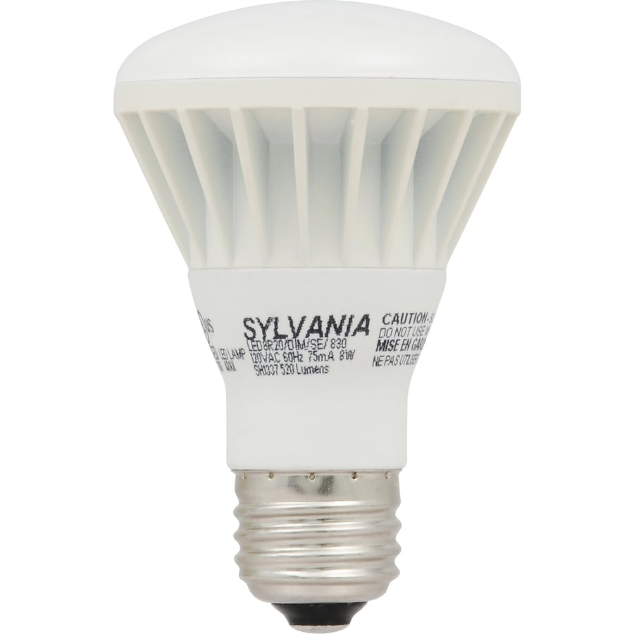 SYLVANIA 50 W Equivalent Dimmable Soft White R20 LED Flood Light Bulb