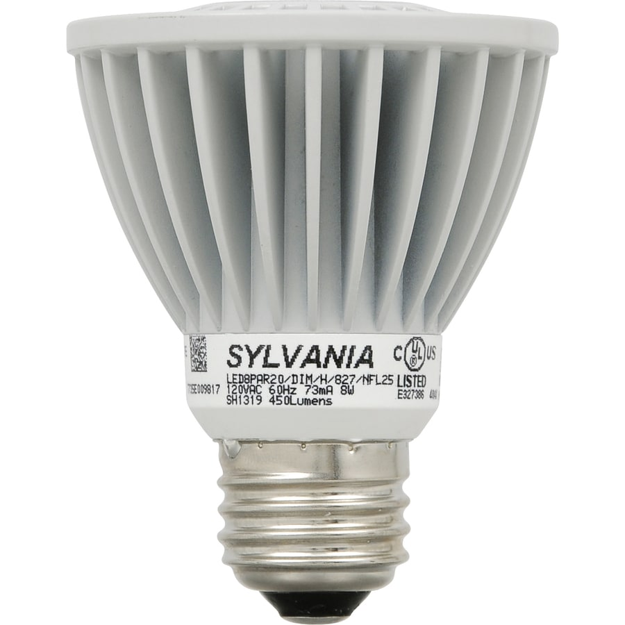SYLVANIA Ultra 6-Pack 50W Equivalent Dimmable Soft White Par20 LED Flood Light Bulb