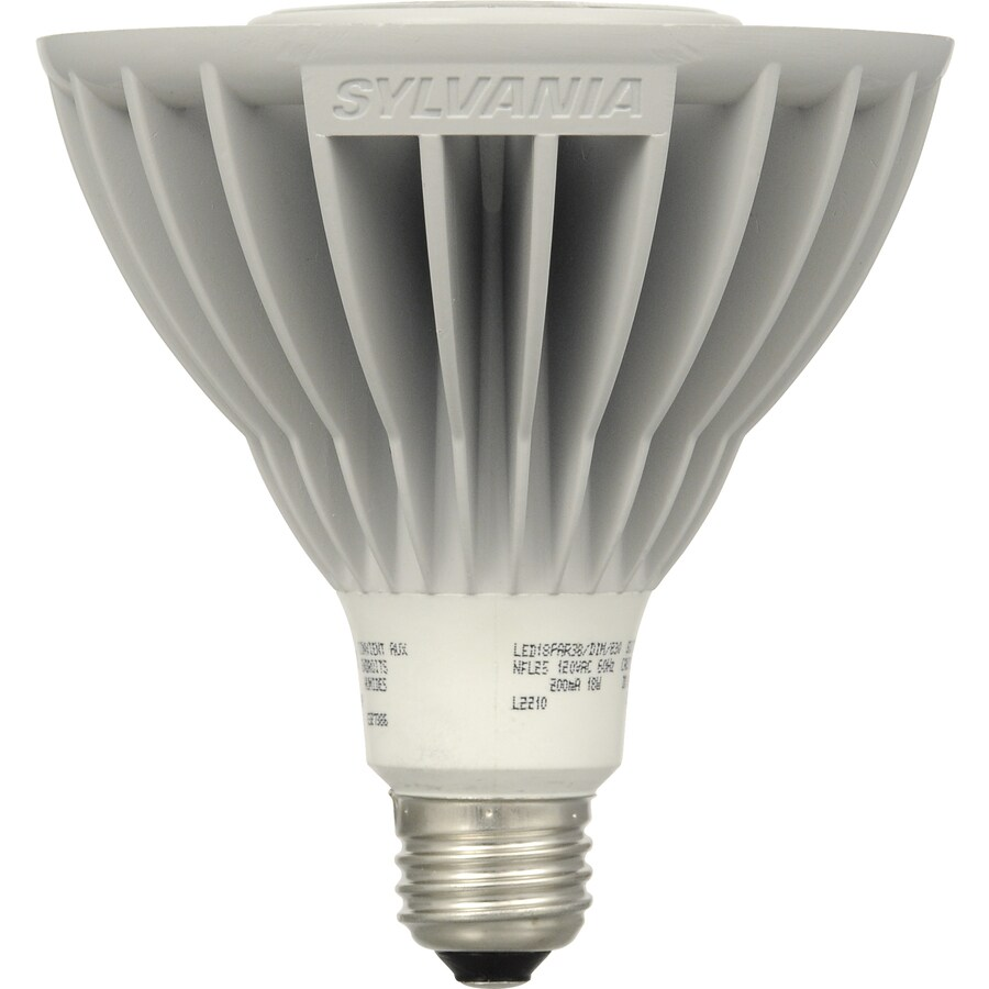 SYLVANIA 75W Equivalent Dimmable Soft White Par38 LED Flood Light Bulb